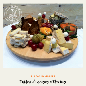 tablas y surtidos de quesos