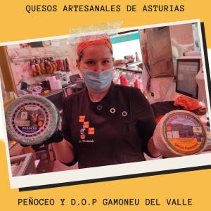 Peñoceo y D.O.P Gamoneu Del valle
