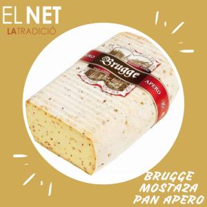 el net  queso BRUGGE MOSTAZA PAN APERO post fb e inst