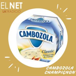 _el net  queso CAMBOZOLA MINI CHAMPIGNON post fb e inst