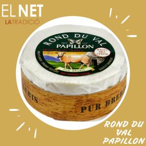 queso ROND DU VAL PAPILLON post fb e inst el net